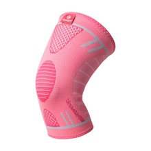 Kuangmi 1 PC Knee Support Sports Compression Anti-slip Volleyball Basketball Brace Elastic Kneepad Sleeve Protection Gear