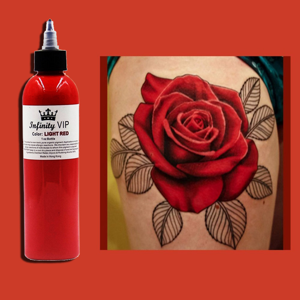1 teile / los Tattoo Professionelle Tattoo Ink Supply 2 UNZE 245 ml / flasche Top Pigment für Body Art Tattoo Kits Liefert
