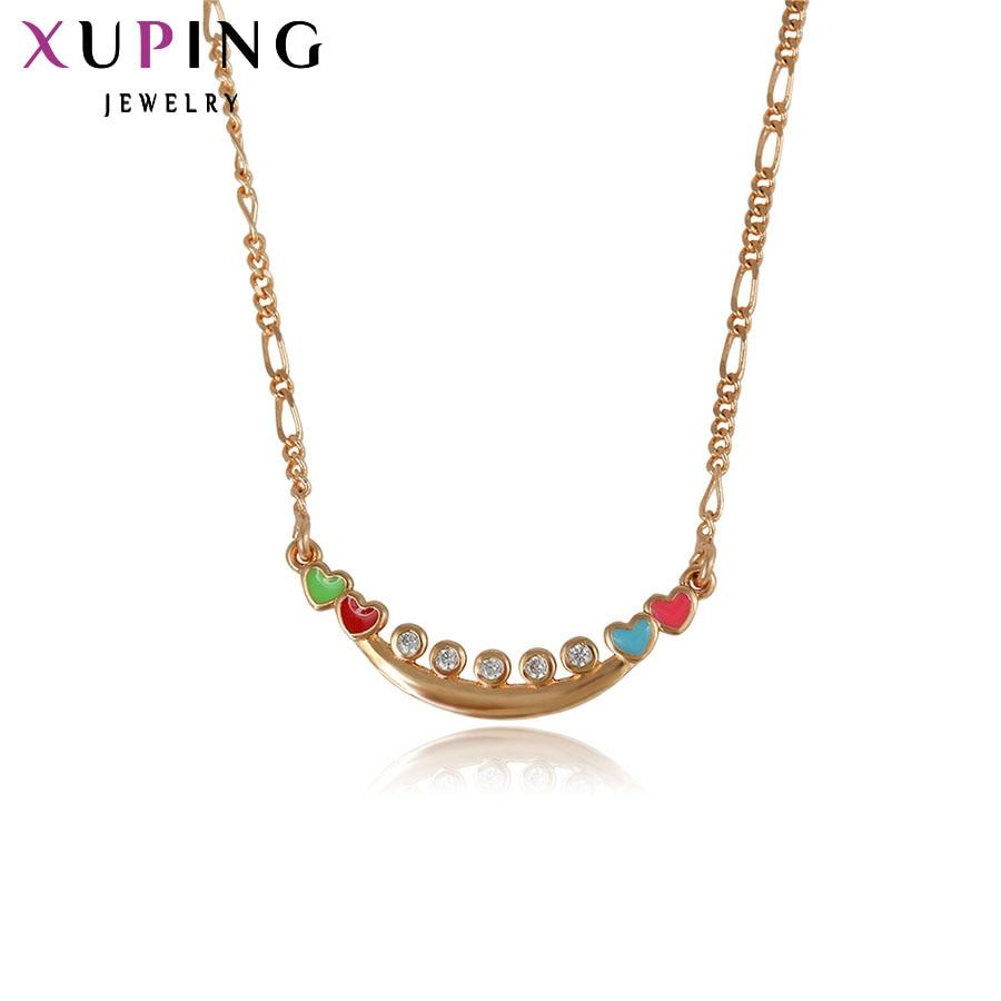 ୧ʕ ʔ୨11.11 Xuping Fashion Necklace New Design Big Long Necklace ...