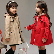 Girls Windbreaker 2019 New Girls Spring and Autumn Coat Chil
