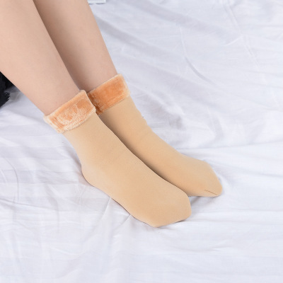 Winter Warmer Thicken Thermal Wool Cashmere Snow Socks 5