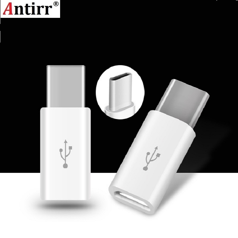 Universal USB 3.1 Type-C Male Connector To Micro USB Female Converter USB-C Data Adapter Type C Device Black Free Shipping