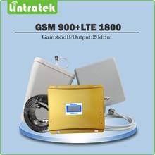 Мобильный Телефон Усилитель Сигнала GSM 900 МГц и LTE 1800 МГц Dual Band усилитель GSM DCS Сигнал Повторителя Полный комплект с Антенной и Кабелем