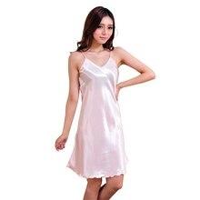 Новое Прибытие Сексуальное Женское Белье Девушки Женщин Шелковый Халат Платье Babydoll Ночная Рубашка Ночная Рубашка Пижамы(China (Mainland))
