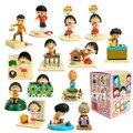 Chibi Maruko Chan 1 Unidades 14 unids/set 3-6 cm Japonés Sakura Momoko Happy Family Juguetes Figura Muñeca