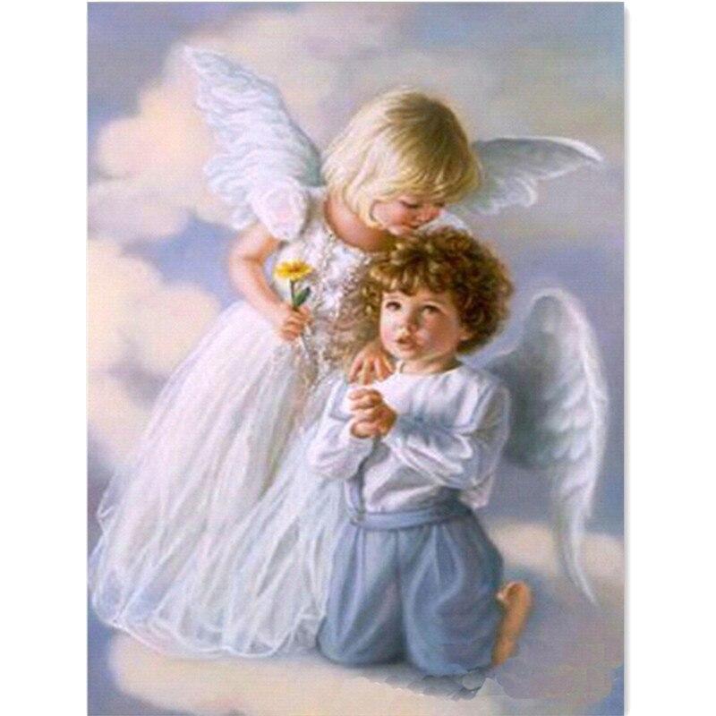 Алмаз вышивка ангелы