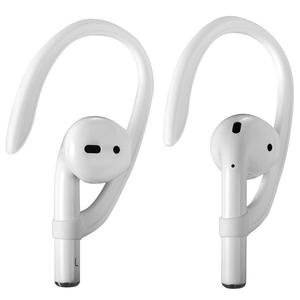 Image 2 - Luxury Anti lost earpods hook for Airpods holder headphone case silicon sport ear hook air pods protection earbuds accessory