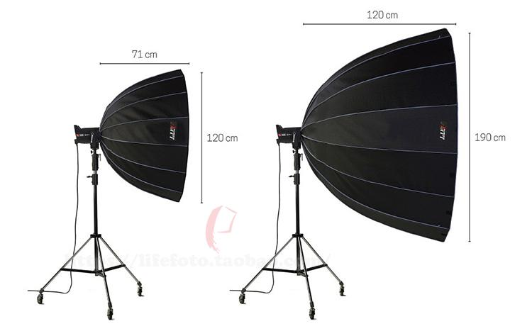 parabolic Softbox for outdoor flash Lamps light photography studio flash Reflection Focusing Parabolic Softboxes Umbrella CD50 selens 65cm diffuser reflector parabolic umbrella beauty dish softbox for off camera flash