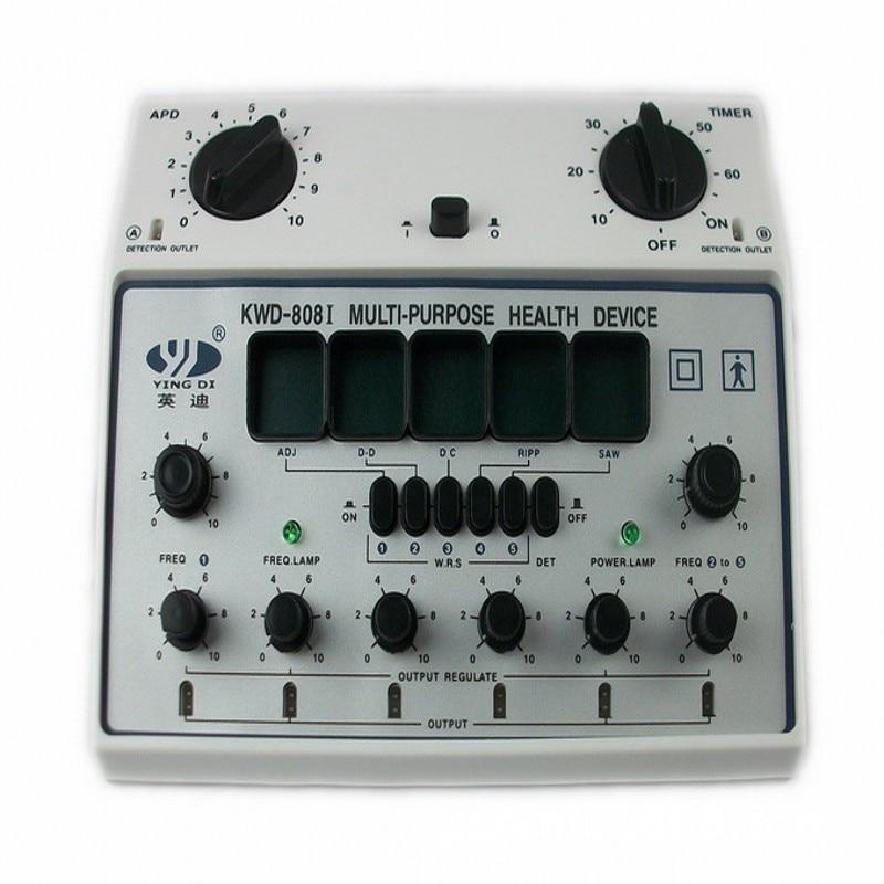KWD 808I 6 Channels Tens UNIT Multi Purpose Acupuncture Stimulator Health Massage Device Electrical nerve muscle