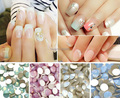 ss6 Crystal Flatbacks  OPAL Color Rhinestone (4 color choices)  for DIY nail art Decoration  360pcs / pack