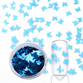 12 Boxes Butterfly Glitter Paillette Ultra-thin Colorful Nail Sequins Manicure Nail Art Decoration