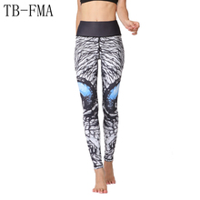 Printed Yoga Leggings Women Yoga pants Fitness Training Leggings High Stretchy Athletic Sport Leggings Running Tights Sportswear