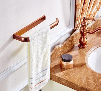 Mosiężne złote okrągły wieszak na ręcznik uchwyt na ręczniki akcesoria łazienkowe akcesoria do dekoracji wnętrz tanie i dobre opinie Pierścienie ręcznik YS-1829 Tuqiu Chrome Miedzi
