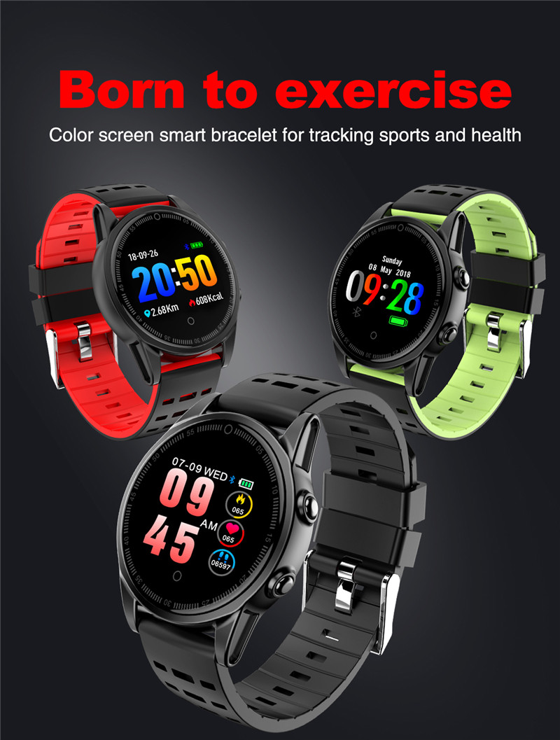 Smart watch fitness waterproof for Android IOS