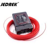 Controle indutivo do sinal do detector do laço do veículo do laço do tráfego do metal com fio da bobina da indução 50m 1.0|Kits de controle de acesso| |  -