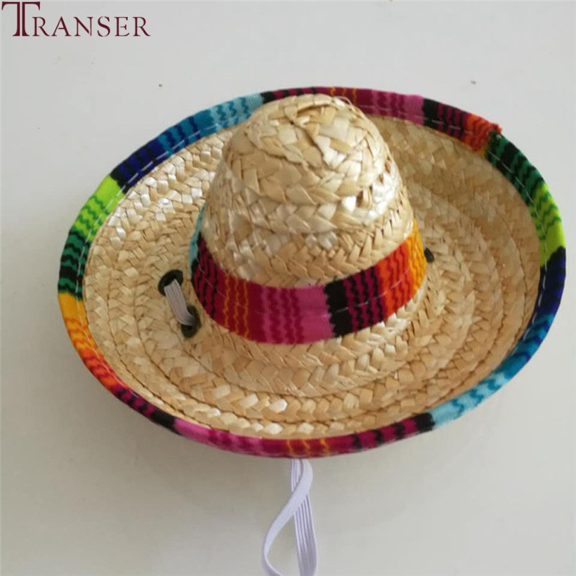 Transer Pet Supply Adjustable Mexican Sombrero Cat Straw Hat Sun Hat For  Small Cat Dogs 80510 Drop Shipping-in Dog Caps from Home   Garden on  Aliexpress.com ... 60d921f0add