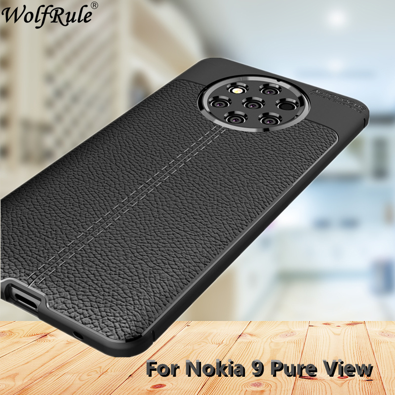 Wolfrule For Cover Nokia 9 PureView Case For Nokia 9 Pure View Case TPU Rugged Hybrid Phone Case For Nokia 9 PureView TA-1094 6