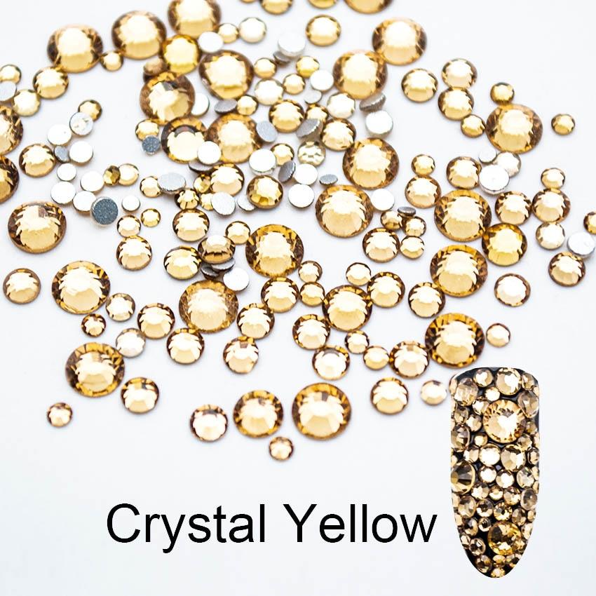 or 100 nonhotfix flatback verre cristal cristaux strass
