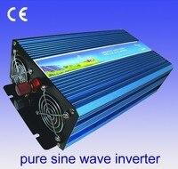 1200 Вт onda синусоидальной pura солнечной энергии инвертор 24 В DC 12 В 48 В AC 110 В 220 В pantalla цифровой