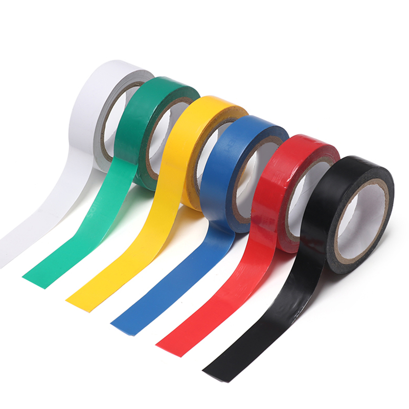 1 Roll PVC Self-adhesive Vinyl Electric Tool 16MM*10M Electrical Insulating Tape High-temperature Insulation Flame Retardant Hot