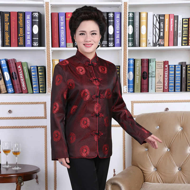54308405f7 ... Lovers Dress Longevity Traditional Mens Chinese Clothing Men Cheongsam  Shirt Kung Fu Jacket Pattern Tang Suit ...