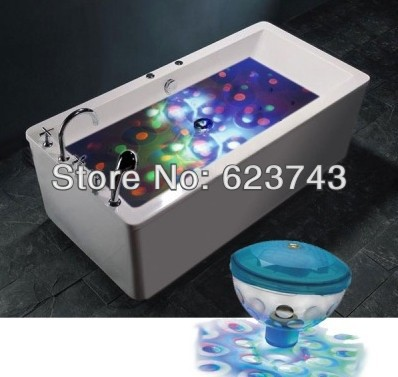 Free Shipping Creative Underwater LED Lighting Show for Pond Pool Spa Hot Tub Disco , Colorful changeable LED underwater lights
