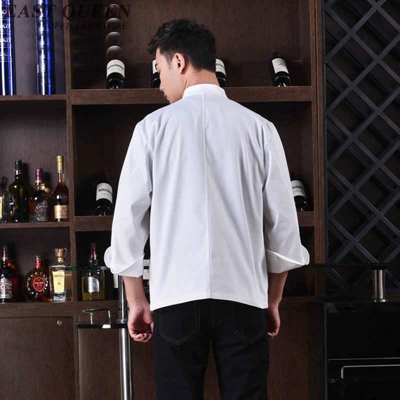 Куртка шеф-повара для пищевых продуктов, китайская одежда для повара, мужская форма шеф-повара, одежда, униформа для ресторана NN0052 W