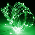 Fairy Lights 5m LED Micro Silver Wire String Fairy Party Xmas Splendid Wedding Light 12V Patio String Lights For Festival