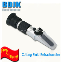 Handle Cutting Oil Refractometers 0~10% for Industrial Oil Concentration Measuring Refractometer Cutting Oil