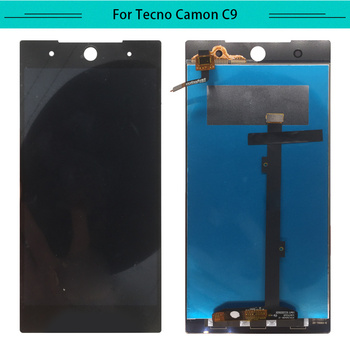 1PC For Tecno C9 LCD Display Assembly Complete Digitizer with touch Screen Camon C9 LCD Free Shipping