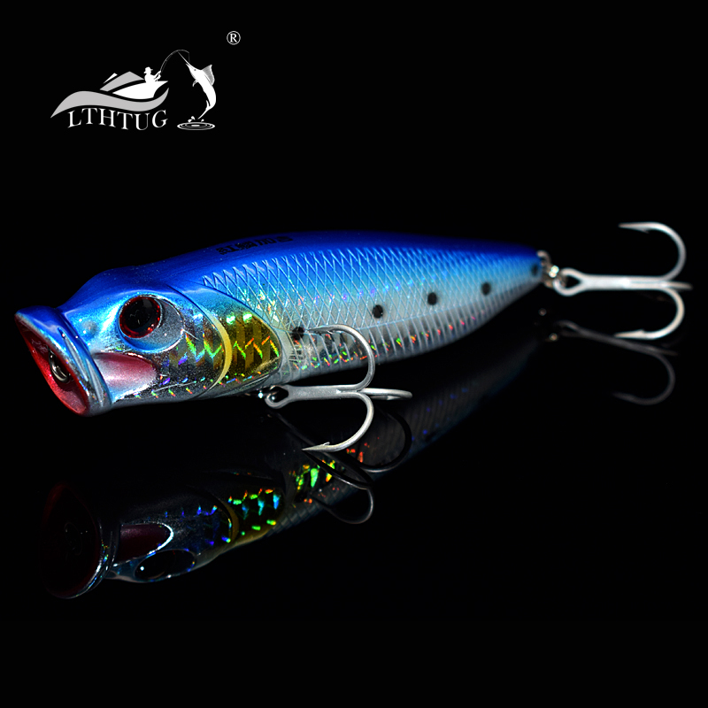 Pesca 2017 far strike big poppers hard fishing lures 110mm for Best fishing lures 2017