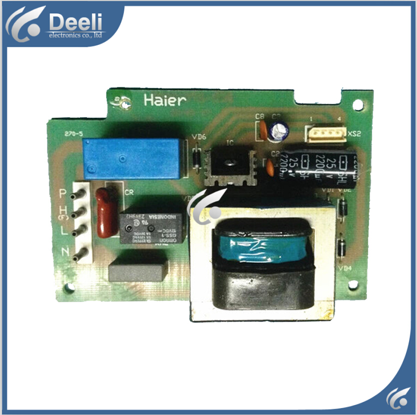 good working 95% new for Haier refrigerator pc board motherboard bcd218h-dy 0064000231 on sale 95% new for haier refrigerator computer board circuit board bcd 551ws bcd 538ws bcd 552ws driver board good working