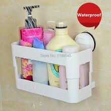 Suction Shower Caddy Storage Holder Shower Rack Bathroom Rack Shower Organizer Bathroom Accessories Dehub White