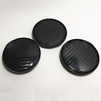 Preto roda do carro hub centro tampa peças de reposição automóvel cobre kit conjunto plástico abs