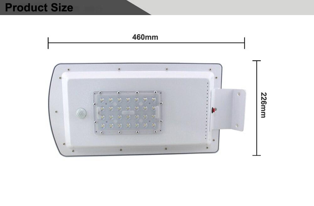 GO OCEAN Solar Lamps LED Solar Waterproof Wall Integrated LED Street Light Solar Lamp Motion Sensor Outdoor Garden Light (16)