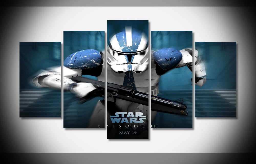 P0624 Star Wars Lightsabers Darth Vader Poster Framed Gallery wrap art print home wall decor wall picture Already to hang