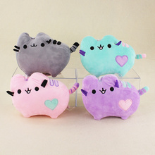 4 styles 16cm Kawaii Pusheen Cat Pendant Stuffed Plush Animals Toys for Birthday Gifts