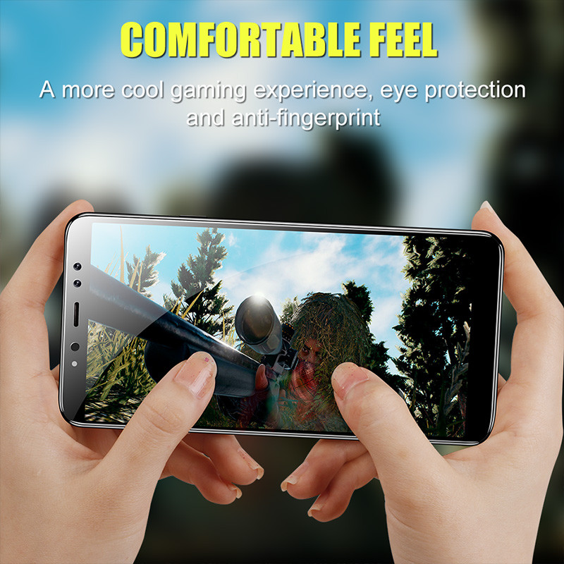 Image 5 - H&A 9D Tempered Glass For Samsung Galaxy J4 Plus J6 J8 A6 A8 A7 2018 Screen Protector A5 A3 A7 2017 Protective Glass Film-in Phone Screen Protectors from Cellphones & Telecommunications