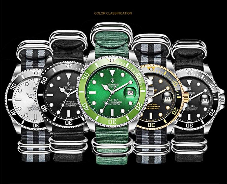 HTB1lOJsKAyWBuNjy0Fpq6yssXXaH Tevise Luxury Waterproof Automatic Men Mechanical Watch Auto Date Full Steel Business Top Brand Man Watches Water Resistant T801