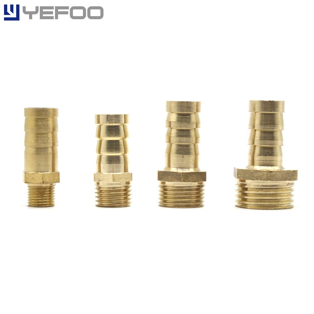 YEFOO Euro Fittings Air Hose Compressor Connector BSP Thread Male/Female Quick Release Brass Pagoda Shape Air Fitting 5 pcs PC 13mm male thread pressure relief valve for air compressor