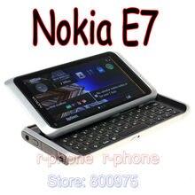 NOKIA E7 мобильный телефон разблокированный 3G wifi смартфон Восстановленный сенсорный экран