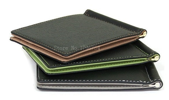 HTB1lOKVPXXXXXctapXXq6xXFXXXl - BLEVOLO Brand Men Wallet Short Skin Wallets Purses PU Leather Money Clips Sollid Thin Wallet For Men Purses 4 Colors