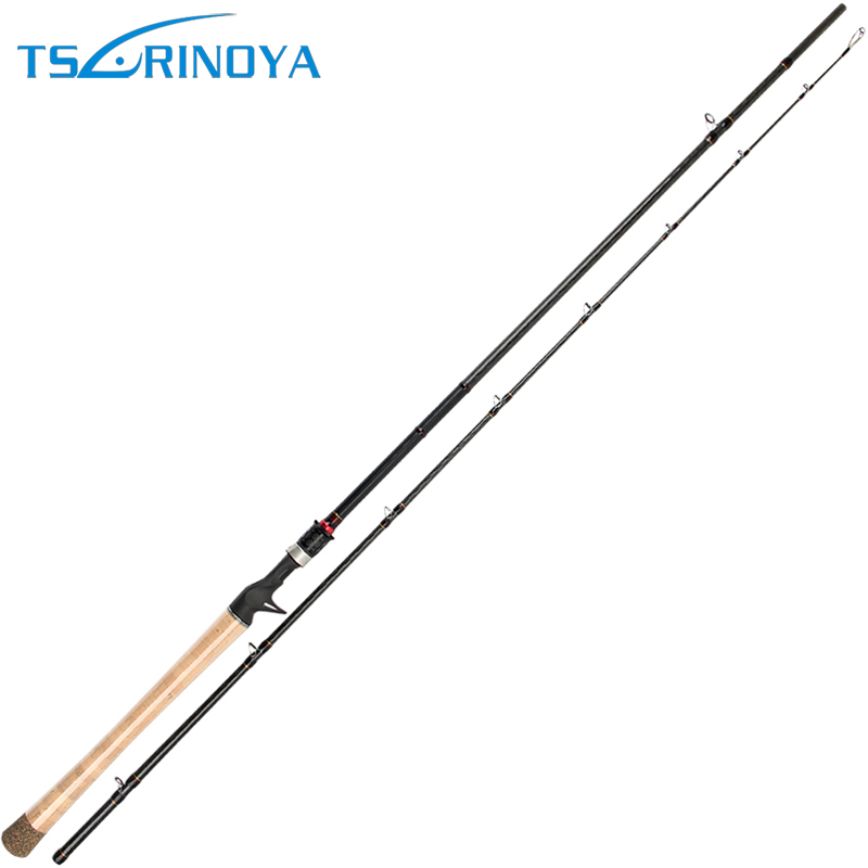 Trulinoya 2.28M H Lightweight Carbon Baticasting Fishing Rod Baitcaster Bait Casting Lure Rod Snakehead Boat Carp Fishing 2color trulinoya casting fishing rod 99% carbon fiber 1 98m carp fishing sea rod 2 section ml power f taper rod with case elc662ml