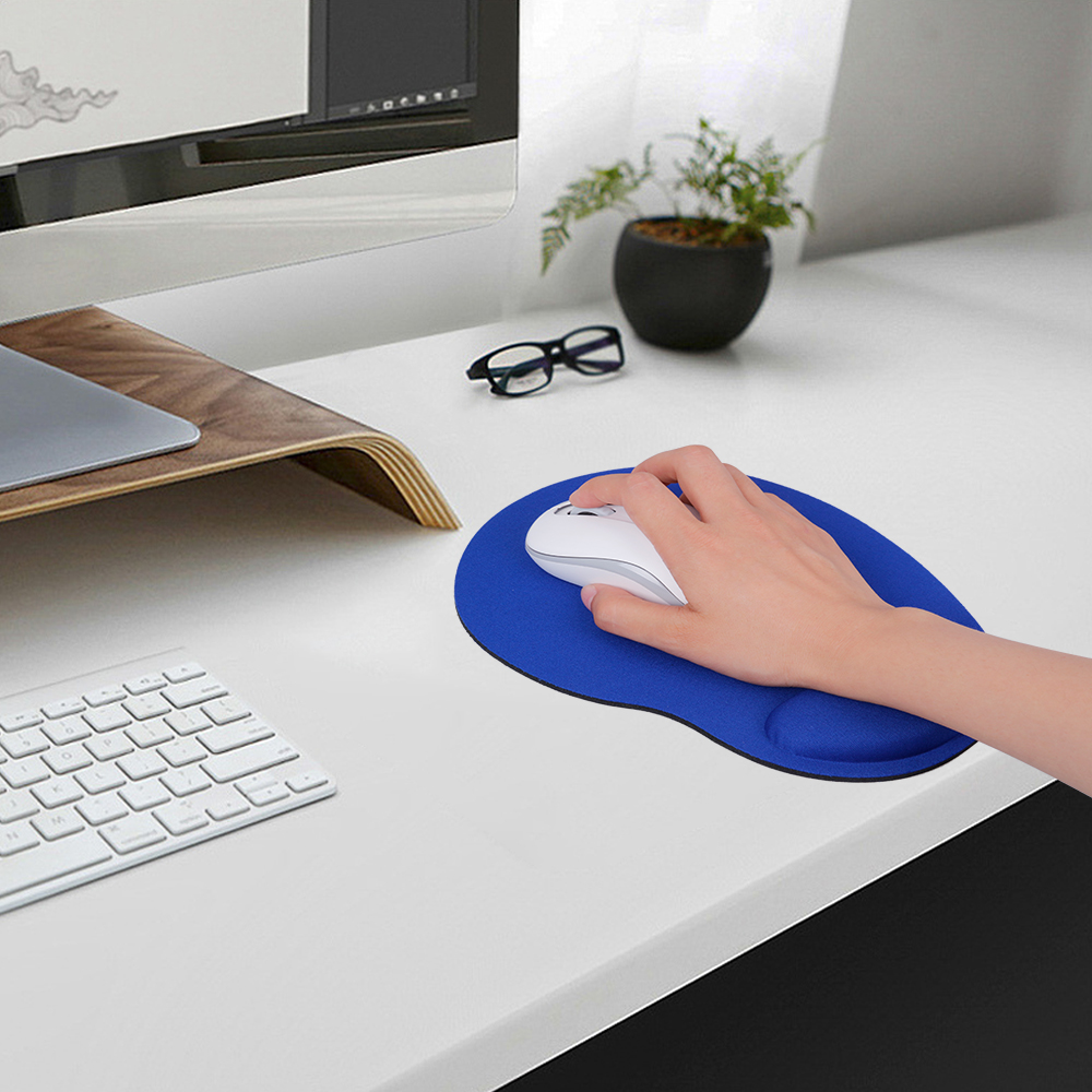 Computer Mouse Pad With Wrist Rest Computer Mice Pad With Wrist Support For Laptop PC Gaming Mouse Pad For Dota 2 Diablo 3 CS