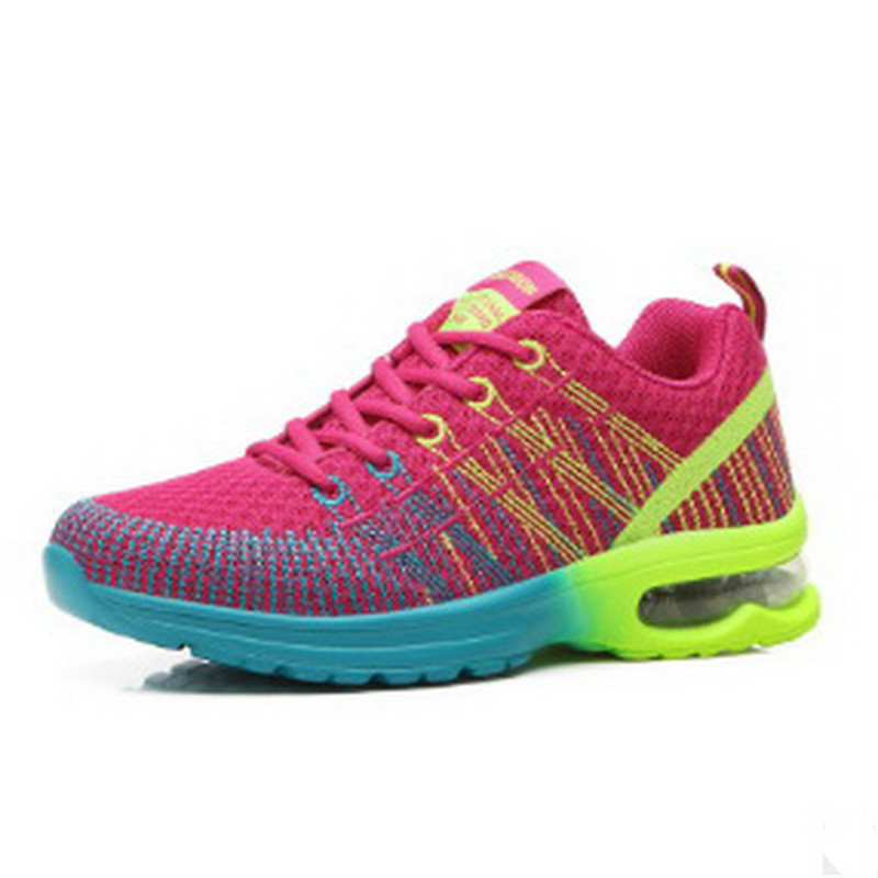 ФОТО  Running Women Shoes For Women 2017 Breathable Mesh Athletic Shoes For Women Sneakers Outdoor Walking Sneakers Lady Shoes