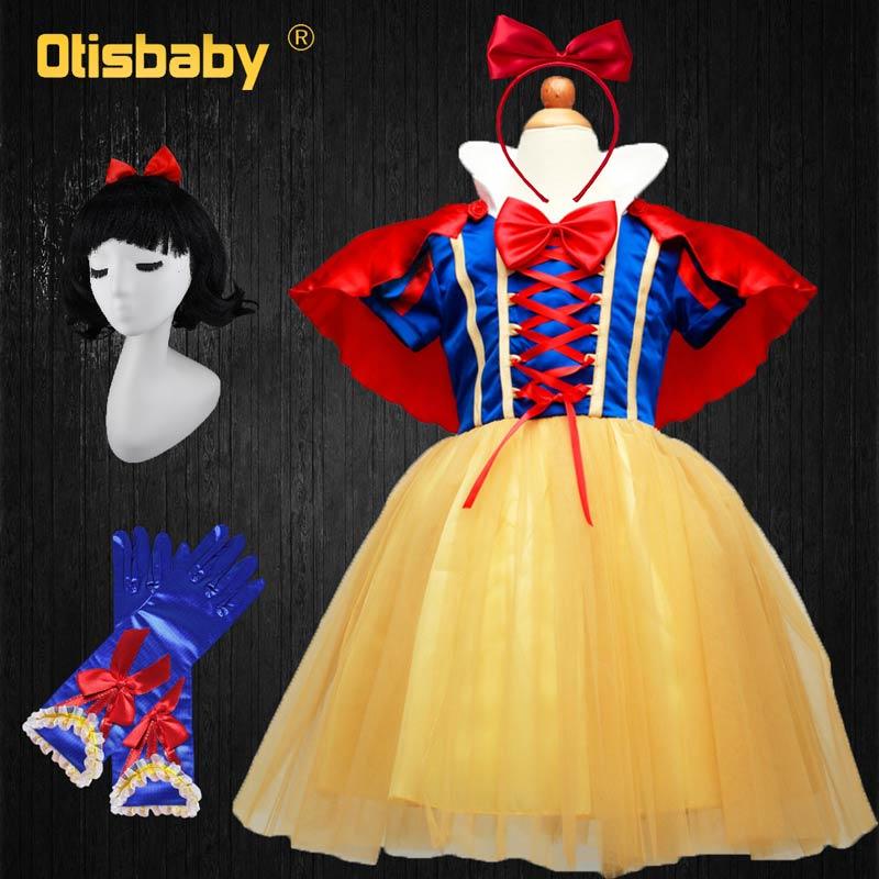 475 53 De Descuentootisbaby 4 Capas Blancanieves Cosplay Vestidos Para Las Niñas Partido De La Princesa Vestido De Los Niños Del Vestido Del Tutú