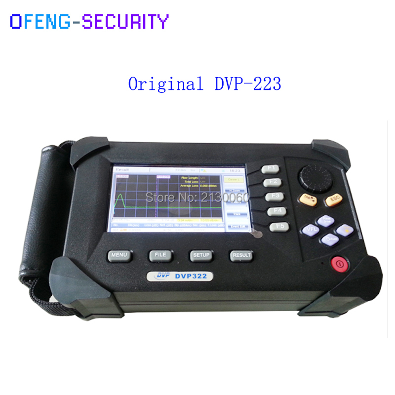 DVP-322 34/32dB SM 1310/1550nm Optical Time Domain Reflectometer Fiber Optic OTDR