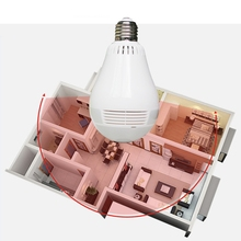 1.3MP LED Camera Bulb Light 360 Degree Wifi Smart Camera Bulbs Home Camera Wireless Smart Security Light Camera