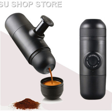 Mini Manual Portable Coffee Maker Mini Espresso Manually Handheld Pressure Espresso Coffee Machine Pressing For Home Travel dumpling maker manual hand oeprate home use