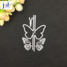 Julyarts Cutting Cutter Paper Gift Butterfly For DIY Scrapbooking Carbon Steel Material Dies Metal Embossing Craft